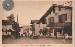 68 - Carte Postale Ancienne De  BIDART  La Mairie - Bidart