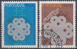 PORTUGAL1983 Nº 1569/70 USADO - 1910-... Republik