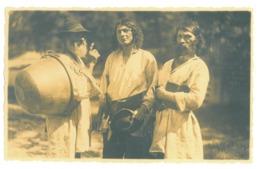 RO 27 - 17560 ETHNICS, Gypsy, Tigani, Romania - Old Postcard, Real PHOTO - Unused - 1937 - Rumania