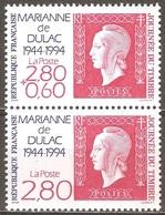 France - 1994 - Journée Du Timbre – Marianne De Dulac - YT 2863 Et 2864 Neufs Sans Charnière - MNH - France