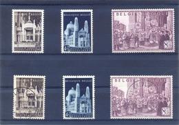 Nrs. 876/878 Prachtig Gestempelde + Postgaaf ** Zeer Mooi 62 Côte - Belgium