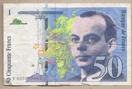 Francia - Banconota Circolata Da 50 Franchi P-157Ad.1 - 1997 #18 - 1992-2000 Ultima Gama
