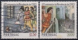 PORTUGAL1983 Nº 1588/89 USADO - Used Stamps
