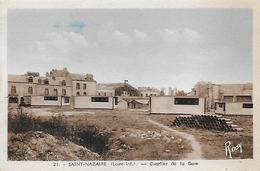 44)  SAINT  NAZAIRE  - Quartier De La Gare - Saint Nazaire