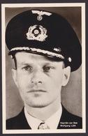 AK Propaganda / Ritterkreuzträger /  Kapitän Zur See Wolfgang Lüth  .... - Weltkrieg 1939-45