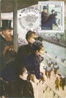 Carte Maximum Peinture Italie 1984 De Nittis - Cartas Máxima
