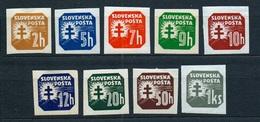Slovakia 1939 Michel: 54-65 X * MLH - Slovakia