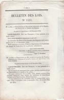 Bulletin Des Lois 1151 De 1844 Tribunal 1 ère Instance Bagnères Hautes Pyrénées - Décrets & Lois