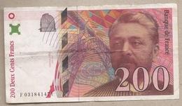 Francia - Banconota Circolata Da 200 Franchi P-159a.2 - 1996 #18 - 1992-2000 Dernière Gamme