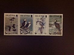 Isle Of Man 1989 WWF Birds MNH - Vögel