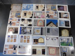 LOT  DE  180  CARTES  POSTALES  NEUVES DE  CADRANS  SOLAIRES   DE  FRANCE - Cartes Postales