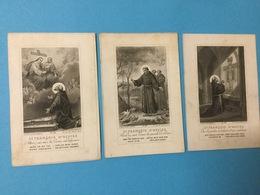 3 Vintage.. Holy Card /Heilig Prentjes. - Images Religieuses