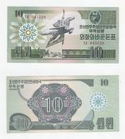 Korea  10 Won 1988 UNC - Korea, North