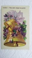 CPA - Langage Des Fleurs - Violettes - Vous Seule Occupez Ma Pensée.1917 - Blumen
