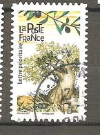FRANCE 2018 Y T N °1615  Oblitéré CACHET ROND - France