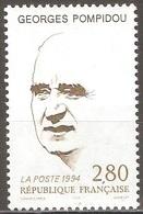 France - 1994 - Georges Pompidou - YT 2875 Neuf Sans Charnière - MNH - France