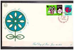 Indonesia 1975 FDC SHP 13 Year Of The Women Open - Indonesia