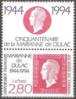 France - 1994 - Journée Du Timbre – Marianne De Dulac - YT 2864 Neuf Sans Charnière - MNH - France