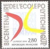 France - 1994 - Ecole Polytechnique - YT 2862 Neuf Sans Charnière - MNH - France