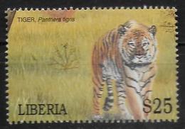 LIBERIA  N°  3267  * *  Tigre - Roofkatten