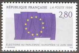 France - 1994 - Parlement Européen - YT 2860 Neuf Sans Charnière - MNH - France