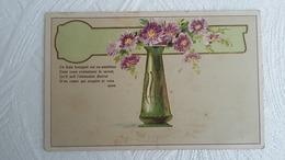 CPA - Langage Des Fleurs - Gauffrée - Ce Frais Bouquet Est Un Emblème Dont Vous Connaissez Le Secret Qu'il Soit - Blumen
