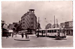 6601 - Tunis ( Tunisie ) - Place Anatole France -  N°416 éd. G. Lévy - Cp Semi-moderne - - Tunisie