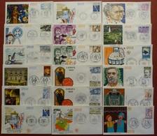 France-Lot De 18 Enveloppes 1er Jour-FDC-1982 - FDC