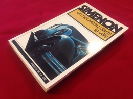 """1977, SIMENON, """"UN NOUVEAU DANS LA VILLE"""", ÉDITIONS PRESSES DE LA CITÉ - Simenon"""