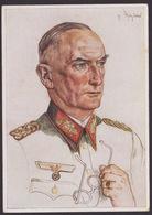 AK Propaganda / Ritterkreuzträger / Männer Der Westfront / Generaloberst Von Witzleben  / Nach W. Willrich   .... - Weltkrieg 1939-45