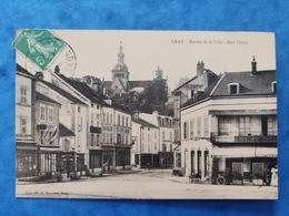 Gray Entrée De La Ville Rue Thiers Haute Saône Franche Comté - Gray