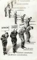 Themes Div-ref EE344-illustrateur Paul Barbier -guerre 1939-45-revendicationde L Allemagne Sur Pologne -tchequie-etc --- - Satiriques