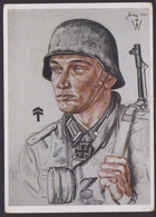 AK Propaganda / Ritterkreuzträger / Oberleutnant Bermer / Nach W. Willrich   .... - Weltkrieg 1939-45