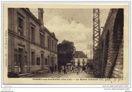 21 Verrey Sous Salmaise - Maison Commune (belle Animation) - Unclassified