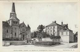 CPA SAINT-ERME Eglise Et Congrégation Notre-Dame. Animée - Frankreich