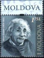 "Moldova 2019 ""Albert Einshtein (1879-1955).Personalities Who Changed World History."" 1v Quality:100% - Moldavie"
