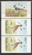 1984 Weidevogels Strook  Birds NVPH 1305a,b,c Postfris/MNH/** - 1980-... (Beatrix)