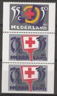 1987 Rode Kruis Strook  NVPH 1384a,b,c Postfris/MNH/** - 1980-... (Beatrix)
