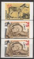 1988 Zomer Strook  NVPH 1402a,b,c Postfris/MNH/** - 1980-... (Beatrix)