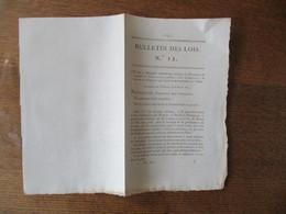 BULLETIN DES LOIS N° 12 LE 8 AVRIL 1815 DECRET IMPERIAL RELATIF A LA PRESTATION DE SERMENT DES FONCTIONNAIRES PUBLICS CI - Décrets & Lois