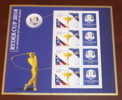 France - 2018 - N°Yv. BF144 - Golf / Ryder Cup - Neuf Luxe ** / MNH / Postfrisch - Nuovi
