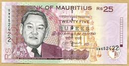 ÎLE MAURICE 25 Rupees  2009 - Maurice