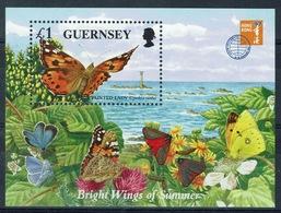 Guernsey, Butterfly, Painted Lady, 1997, MNH VF - Guernsey