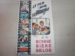 Ancienne Publicite LE FILM DE LA FABRICATION DE LA BONNE BIERE BELGE - Food