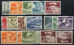 1948  Usages Courant Et Têtes Bêches   Cote 16-francs Suisses - Suiza