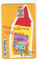 Ma Cabine Cabane -- Mathilde  4 Ans --Collection Dessins D'enfants - 50 U - Telecom Operators