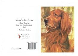 Double Cp Illustration Poortvliet - GOOD DOG SERIES - Chien épagneul - Lutin Champignon Flûte (au Dos) - Chiens