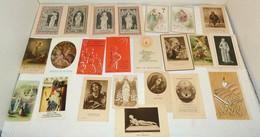 Lots De 74 Images Religieuses. - Religion & Esotérisme
