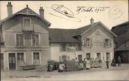 Cp Arches Vosges, Postes Et Telegraphes, Café Noel - France