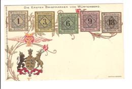 Die Ersten Briefmarken Von Würtemberg - Stamps (pictures)
